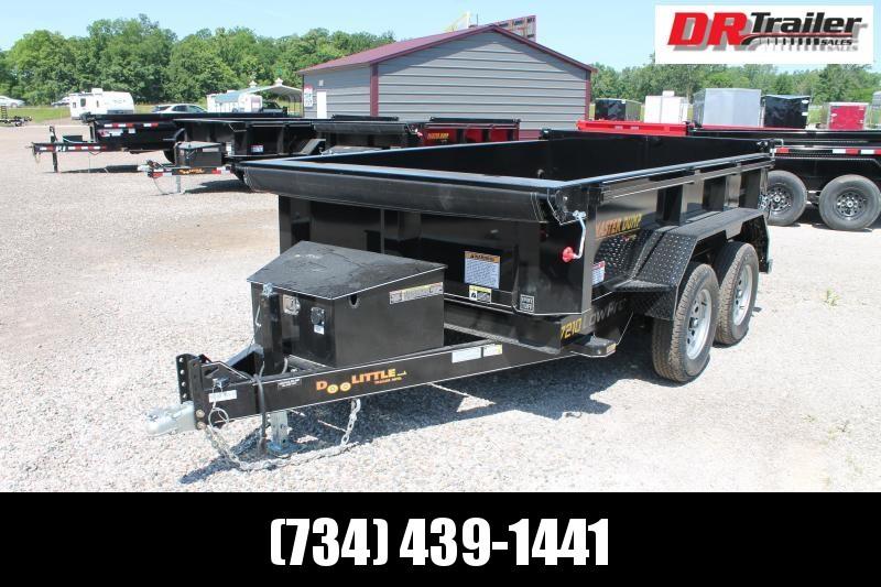 2021 DooLitttle Trailers 6' X 10' 7K GVWR DUMP TRAILER Dump Trailer