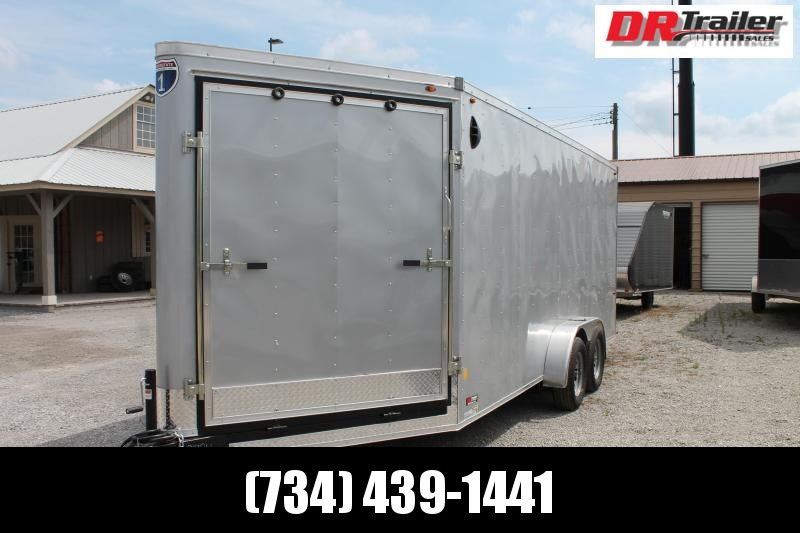 2021 Interstate 7' X 18' RD Enclosed Cargo Trailer