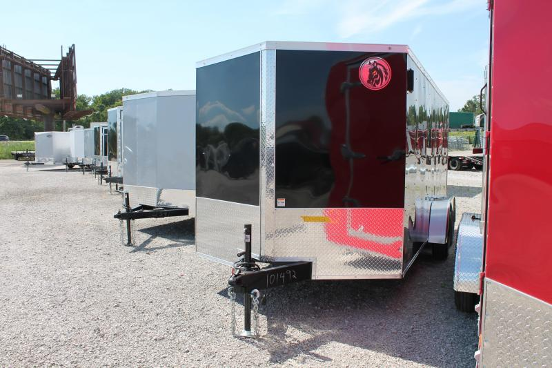 2021 Darkhorse Cargo 7' X 16' RD Enclosed Cargo Trailer