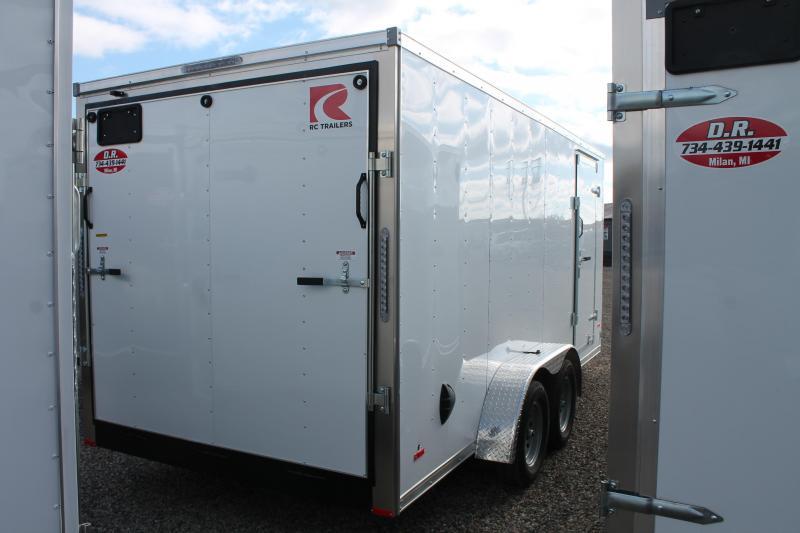 2022 RC Trailers 7' X 16' R RDL ENCLOSED TRAILER Enclosed Cargo Trailer
