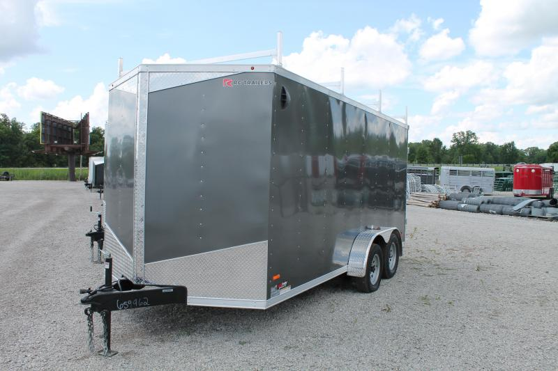 "2020 RC Trailers 7' X 16' + 6"" DD Enclosed Cargo Trailer"