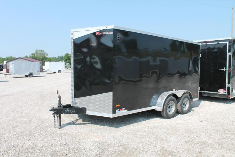 "2020 RC Trailers 7' X 14' + 6"" DD Enclosed Cargo Trailer"