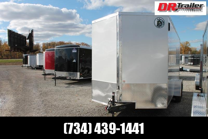 "2021 Darkhorse Cargo 7' X 16' + 12"" RD Enclosed Cargo Trailer"