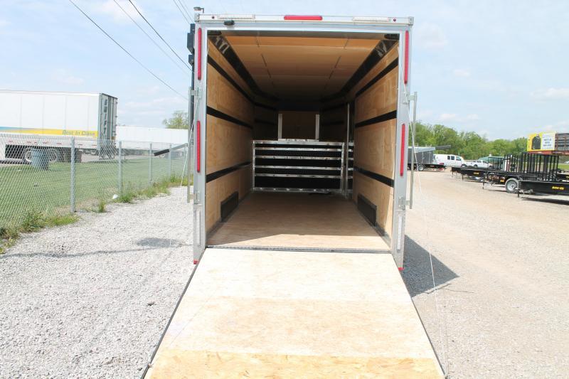 2020 RC Trailers 7' X 28' GOOSENECK ENCLOSED TRAILER Enclosed Cargo Trailer