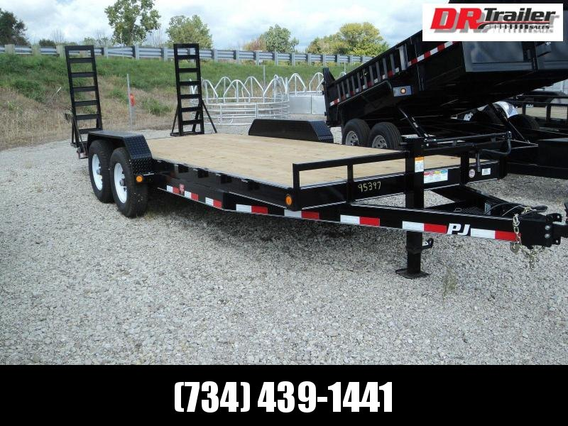 PJ Trailers 20 Equipment Flatbed Trailer