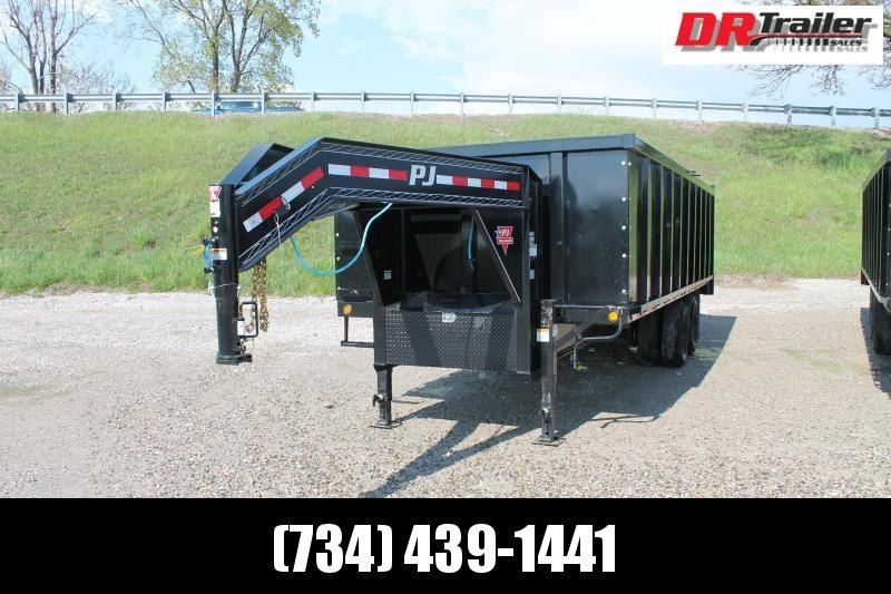 2021 PJ Trailers 20' DD 25K GVWR DUMP TRAILER Dump Trailer