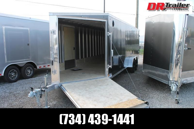 2022 Impact Trailers 7' X 29' ENCLOSED SNOW COMBO TRAILER Snowmobile Trailer