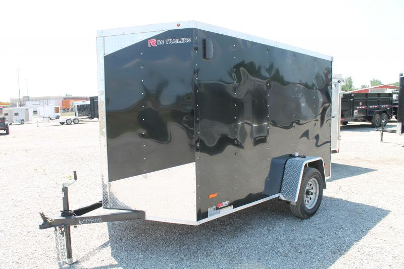 2020 RC Trailers 6' X 10' RD Enclosed Cargo Trailer