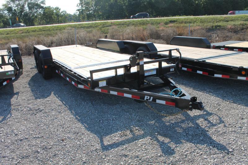 2022 PJ Trailers 20' T6 14K GVWR TILT EQUIPMENT TRAILER Equipment Trailer