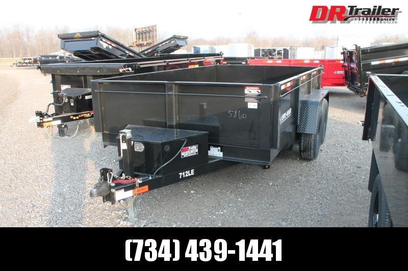 2021 Bri-Mar 7' X 12' 12K Dump Trailer