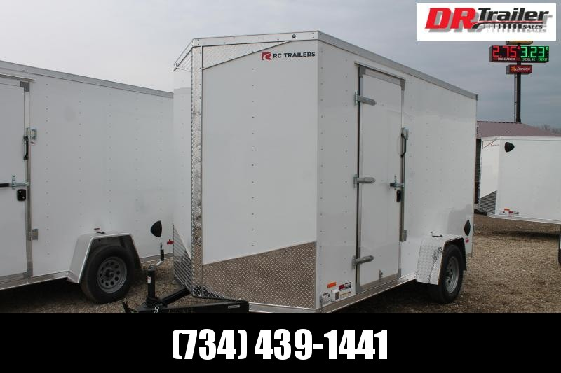 2021 RC Trailers 6' X 12' CONCESSION Enclosed Cargo Trailer