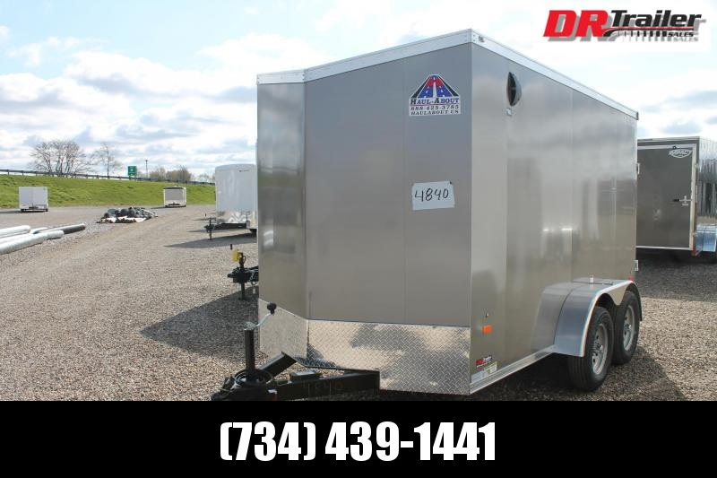 2021 Haul-About 6' X 12' TA ENCLOSED TRAILER Enclosed Cargo Trailer