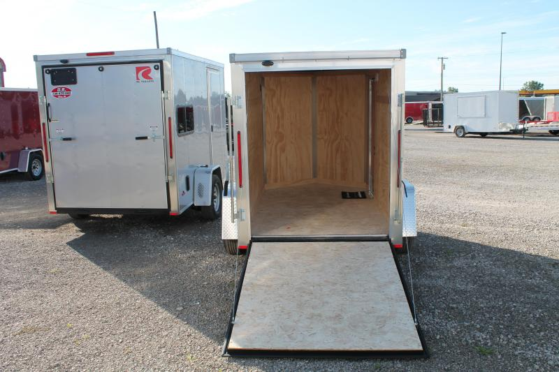 "2021 RC Trailers 6' X 10' + 6"" RD Enclosed Cargo Trailer"
