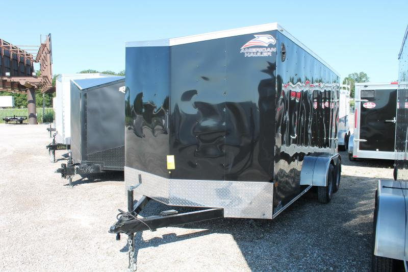 2021 American Hauler 7' X 16' RD Enclosed Cargo Trailer
