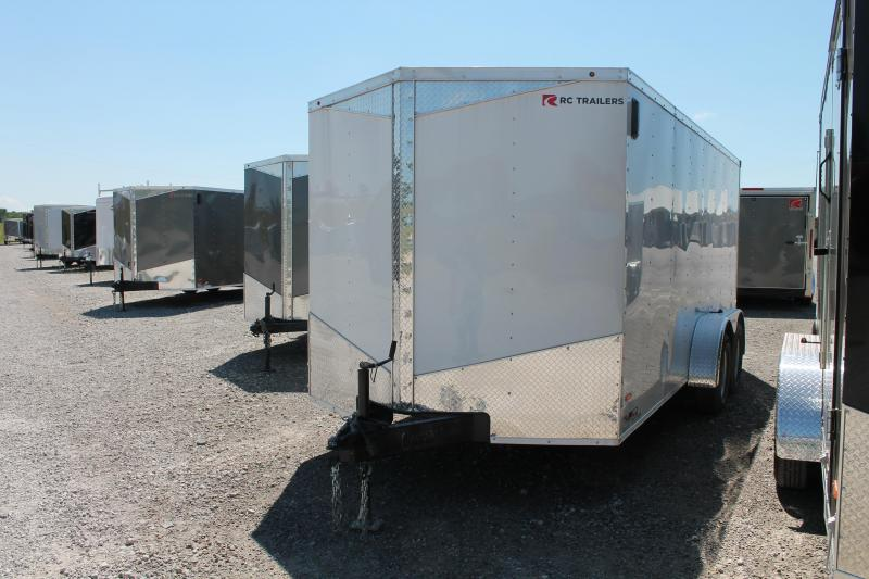 2020 RC Trailers 7' X 16' RD Enclosed Cargo Trailer