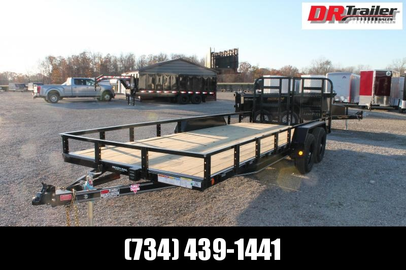 2021 PJ Trailers 20' RG 10K Equipment Trailer