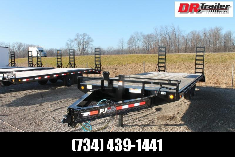 2021 PJ Trailers 20' DO 14K Equipment Trailer