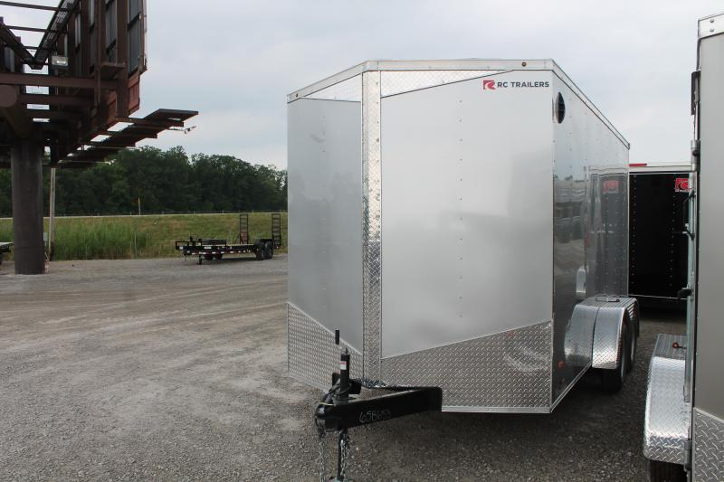 """2020 RC Trailers 7' X 14' + 12"""" RD Enclosed Cargo Trailer"""
