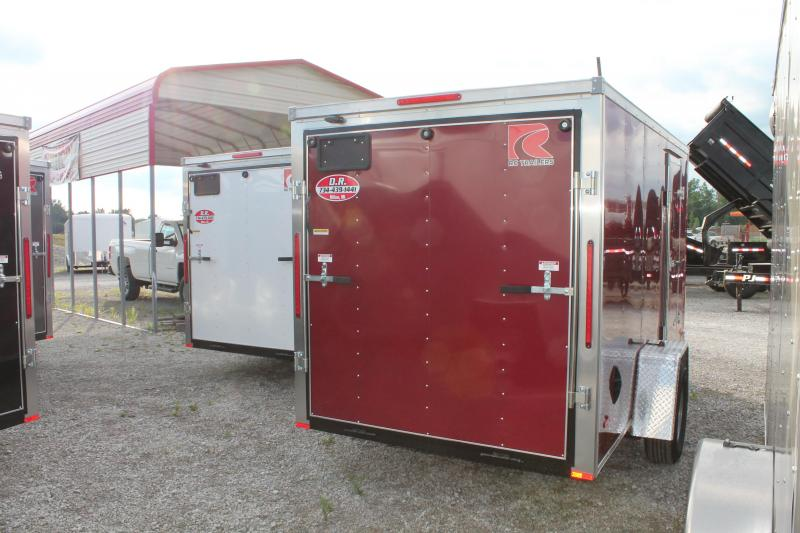 2021 RC Trailers 6' X 12' RD Enclosed Cargo Trailer