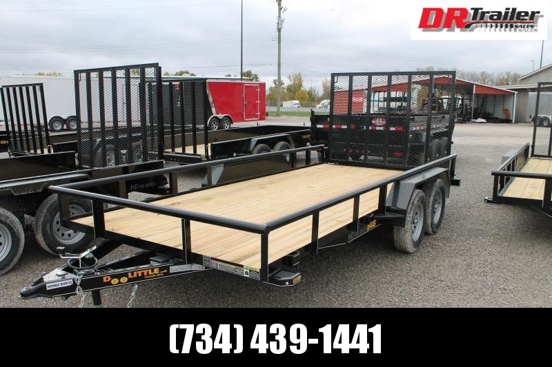 2021 DooLitttle Trailers 16' RG 7K Equipment Trailer