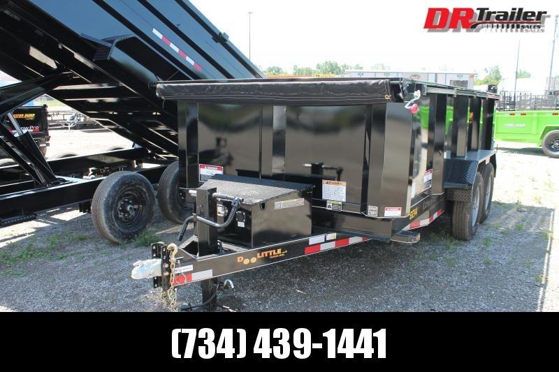 2021 DooLitttle Trailers 14' 14K GVWR DUMP TRAILER Dump Trailer
