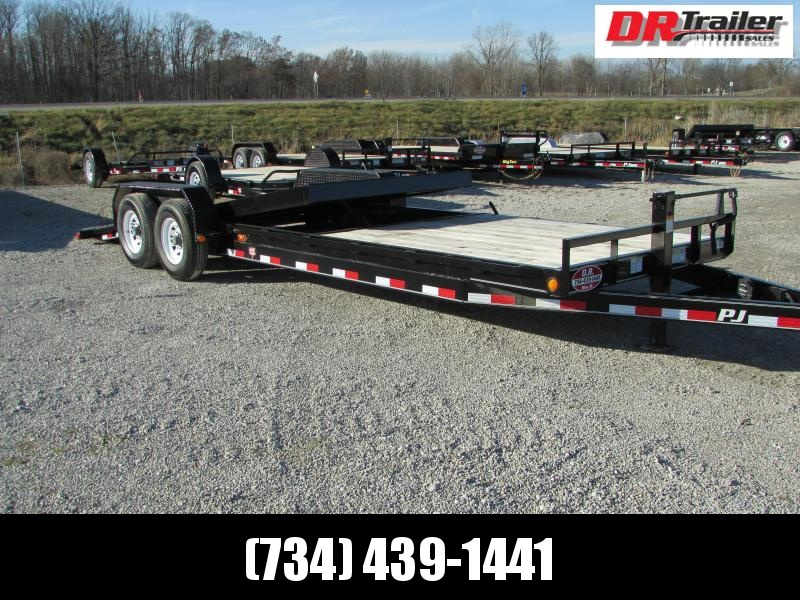 PJ Trailers 24 Tilt Equipment Trailer