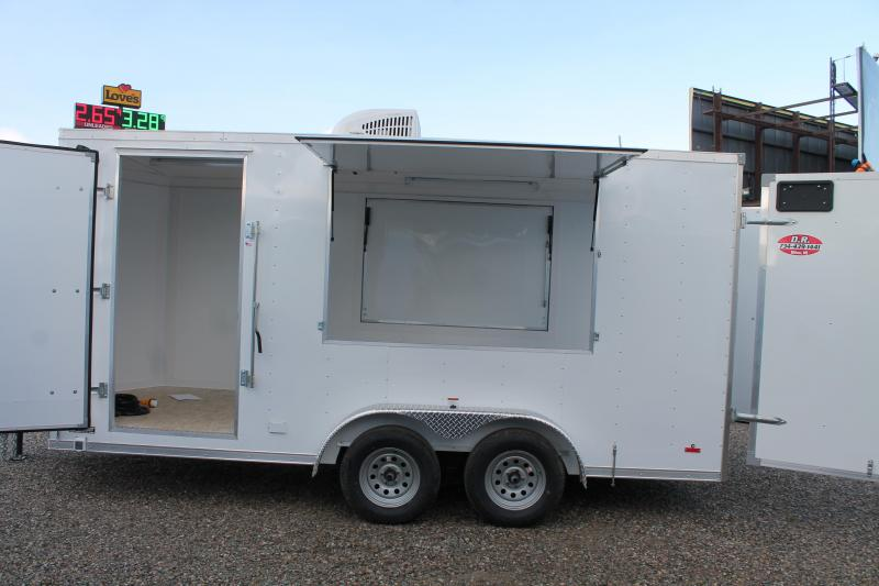 2021 RC Trailers 16' ENCLOSED CONCESSION TRAILER Enclosed Cargo Trailer