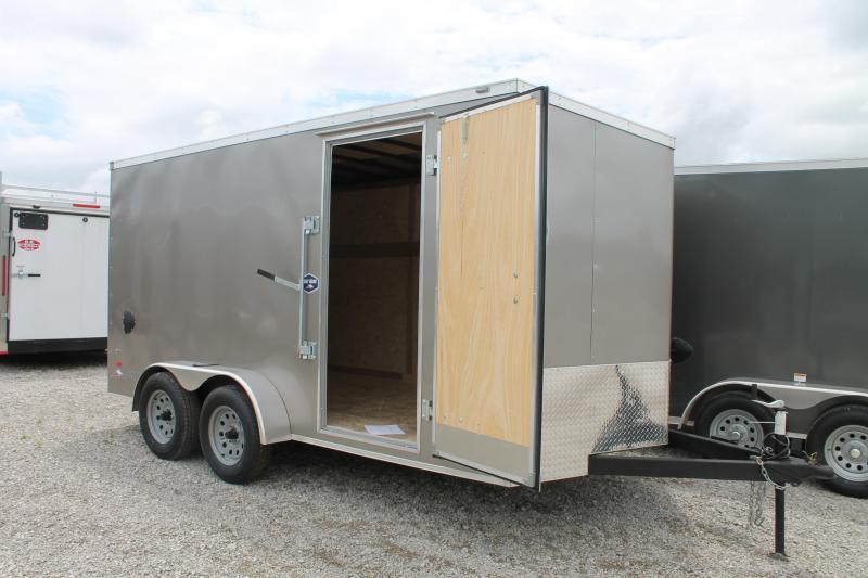 2020 American Hauler 7'X14' RD Enclosed Cargo Trailer