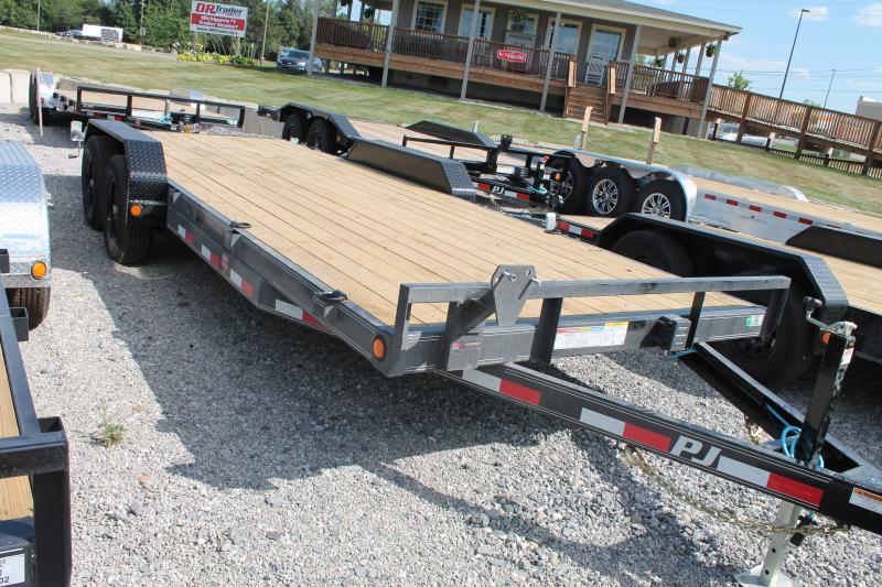 2022 PJ Trailers 20' SR 10K GVWR EQUIPMENT TRAILER Car / Racing Trailer