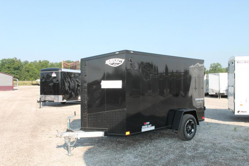 2021 Impact Trailers 5' X 10' RD Enclosed Cargo Trailer