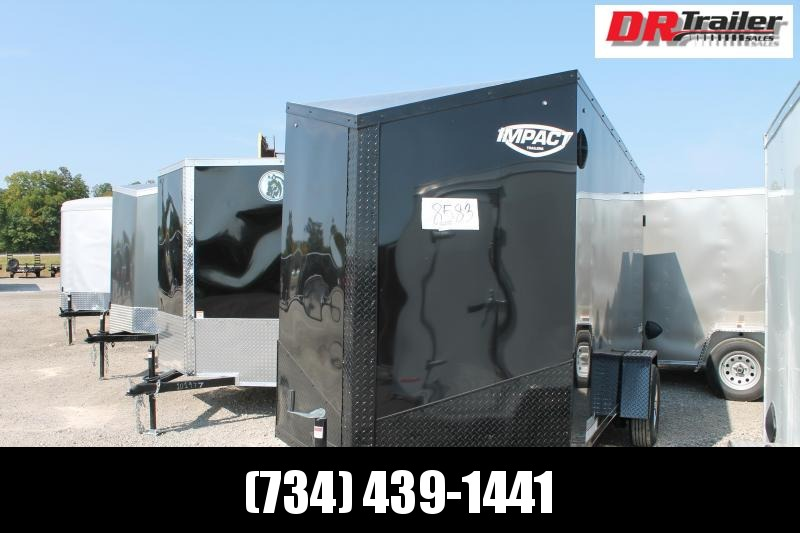 """2021 Impact Trailers 6' X 12' + 6"""" RD Enclosed Cargo Trailer"""