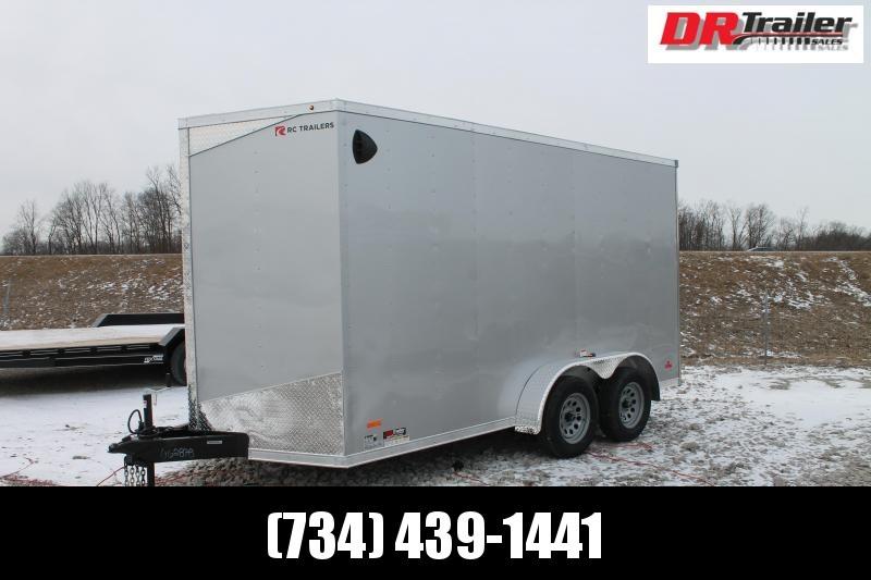"2021 RC Trailers 7' X 14' +7"" RD DLX Enclosed Cargo Trailer"