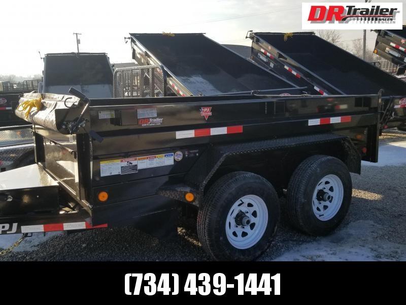 PJ Trailers 6X10 10K GVWR Dump Trailer