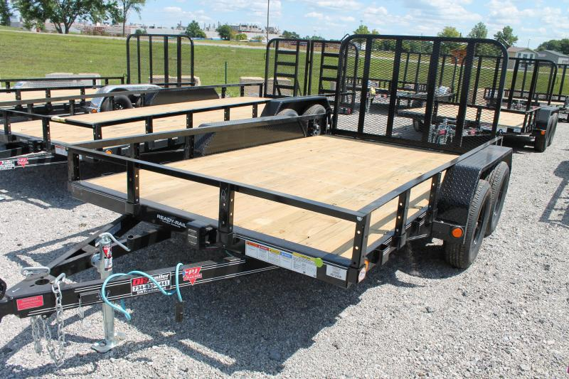 2021 PJ Trailers 12' RG TA Equipment Trailer