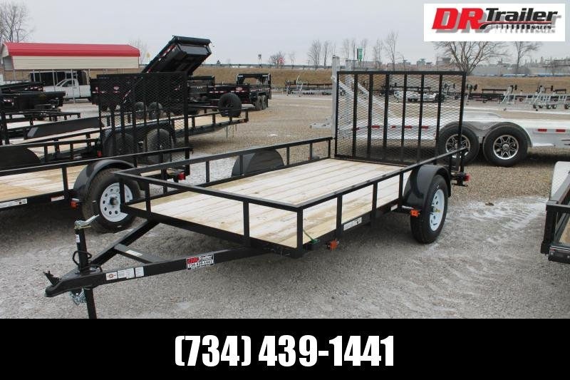 2021 Carry-On 6' X 12' RG Equipment Trailer