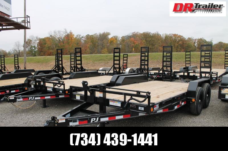 2021 PJ Trailers 16' FR 14K Equipment Trailer