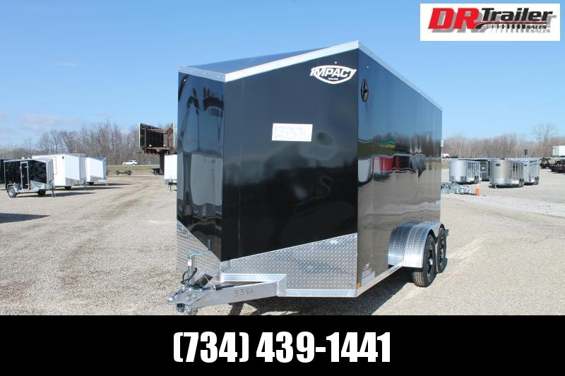 2022 Impact Trailers 7' X 14' RD ALL ALUMINUM Enclosed Cargo Trailer