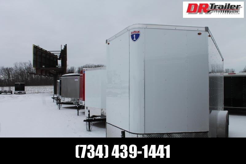 2021 Interstate 7' X 14' DD 10K Enclosed Cargo Trailer