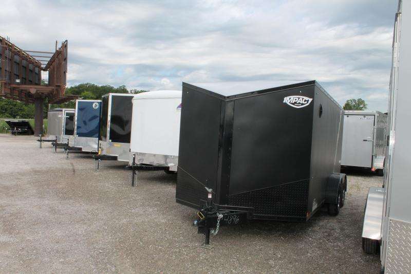 2021 Impact Trailers 7' X 14' RD CYCLE Enclosed Cargo Trailer
