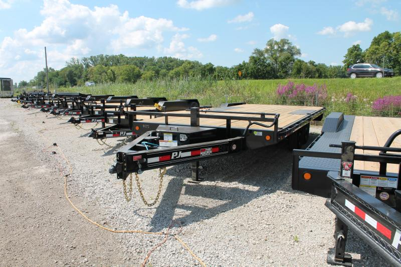 2021 PJ Trailers 20' 14K DO Flatbed Trailer