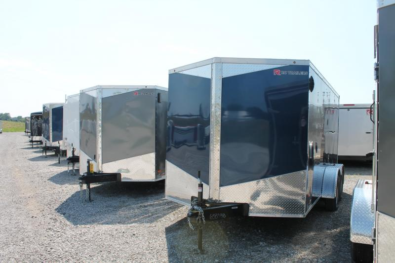 2020 RC Trailers 7' X 14' RD Enclosed Cargo Trailer