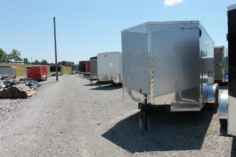 "2020 RC Trailers 7' X 14' + 6"" RD Enclosed Cargo Trailer"