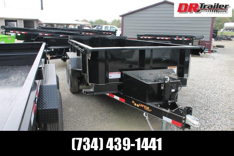 2022 DooLitttle Trailers 6' X 12' 10K GVWR DUMP TRAILER Dump Trailer