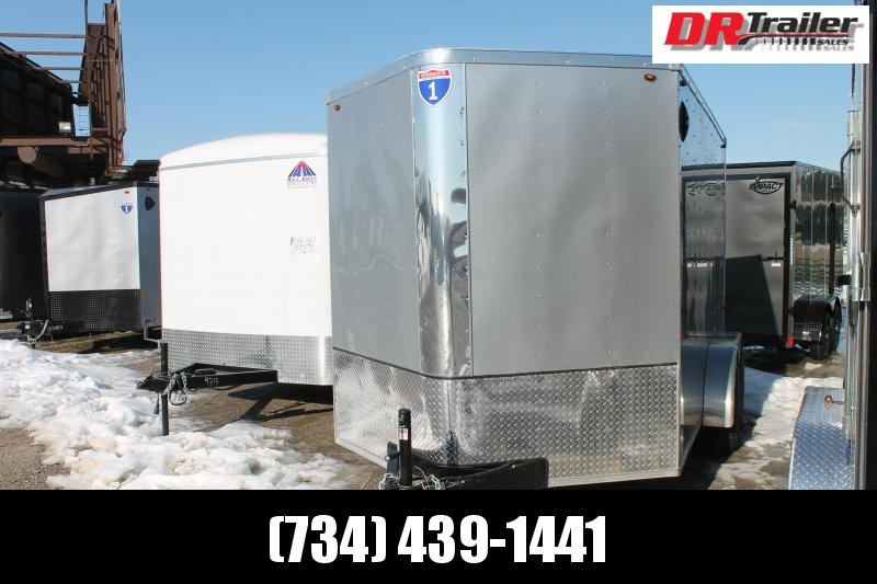 2021 Interstate 7' X 12' RD Enclosed Cargo Trailer