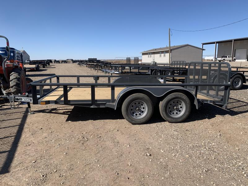 2021 83X14 X-ON Tandem Axle Utility w/Ramp Gate