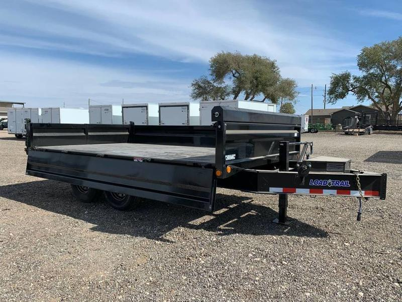 "96"" X 14' TANDEM AXLE DECK-OVER DUMP"