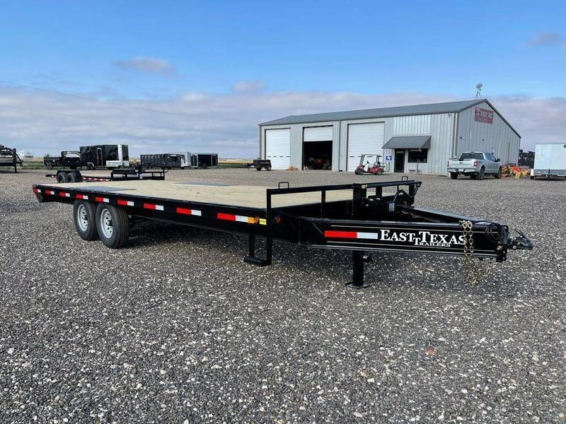 """East Texas Trailers 102X20 (14K) Deck-Over - 10"""" Frame"""