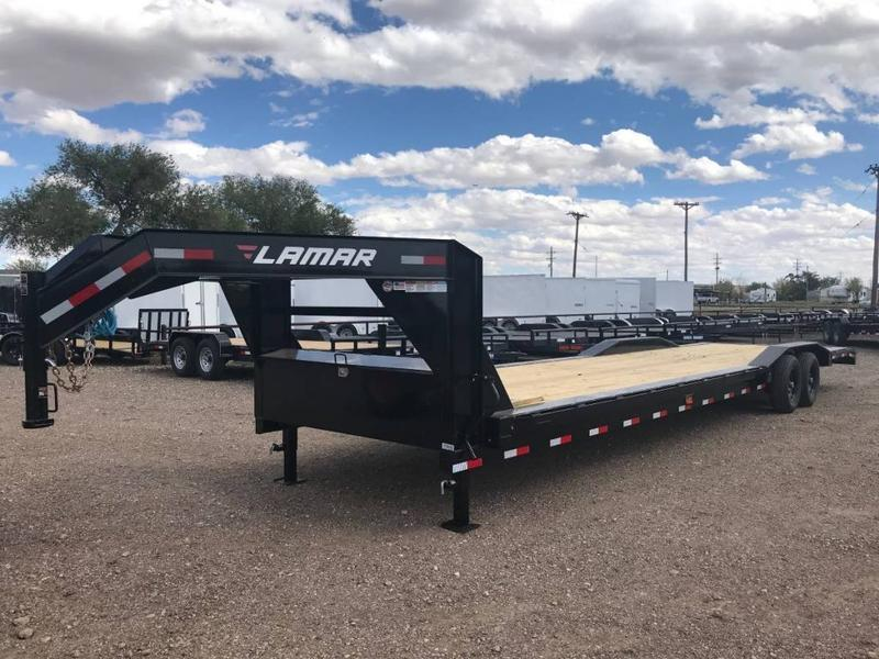 2021 Lamar 102X36 HD Equipment Hauler w/ Drive-Over Fenders