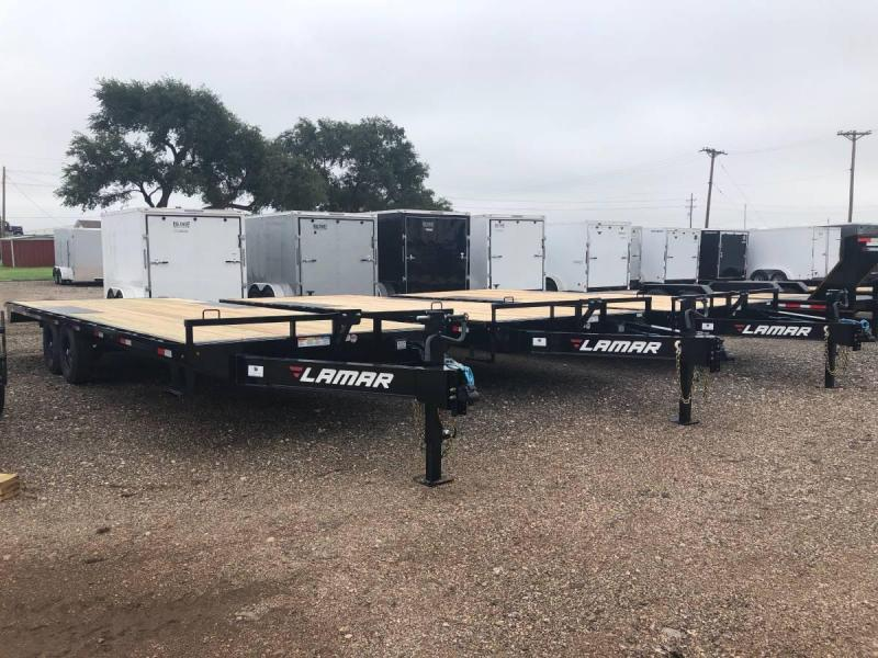 2021 Lamar Trailers 20' Deck-Over BP Equipment Trailer