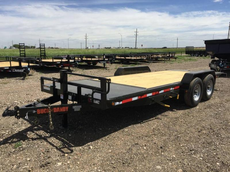 2021 83X20 Buck Dandy (14K) Wood Floor Tilt Trailer